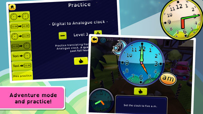 Zcooly Time Ranch - Practice the clock and learn how to tell time-4