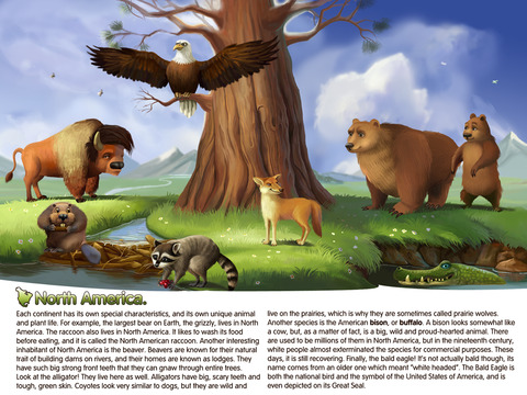 Planet Earth HD. Interactive Book for Kids. Geography, Animals and Science.-3