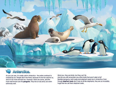 Planet Earth HD. Interactive Book for Kids. Geography, Animals and Science.-4