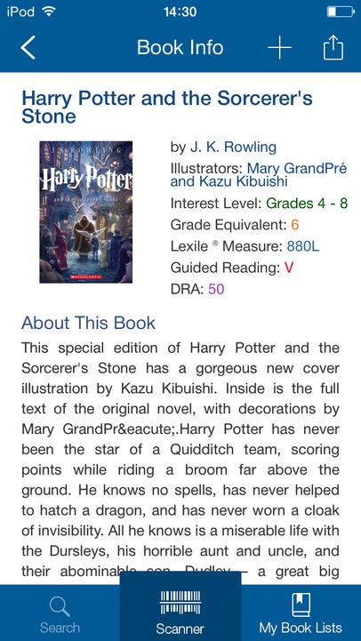 Scholastic Book Wizard App - 1