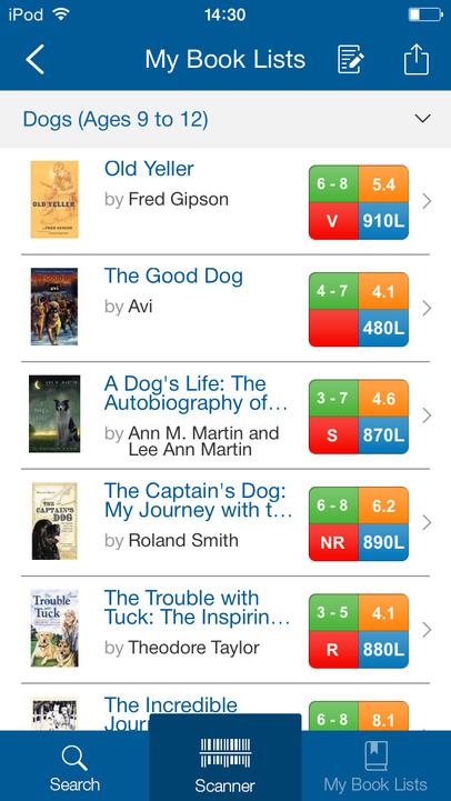 Scholastic Book Wizard App - 2