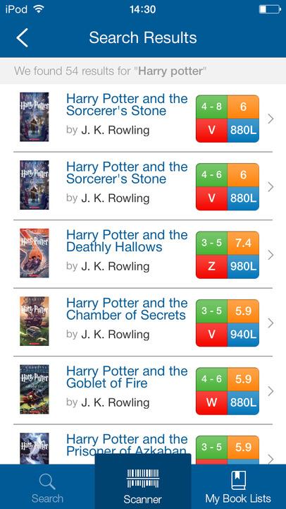 Scholastic Book Wizard App - 3