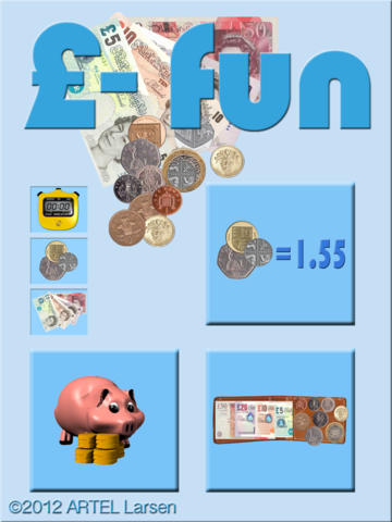 £-Fun - Money, Coins, Pounds, Notes, Currency-1