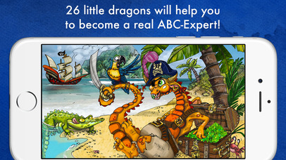 Dragon ABC – 26 little dragons will help you to become a real ABC-Expert! App - 5