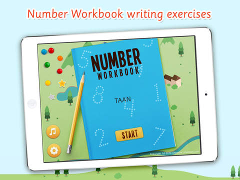 Number Workbook School Edition