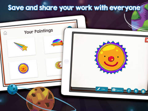 PaintPad Space School Edition App - 4