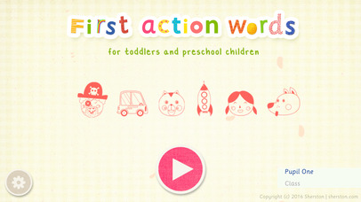 First Action Words School Edition App - 1