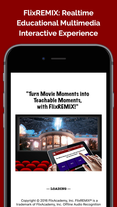 FlixREMIX® Make Movies Educational & Interactive App - 1