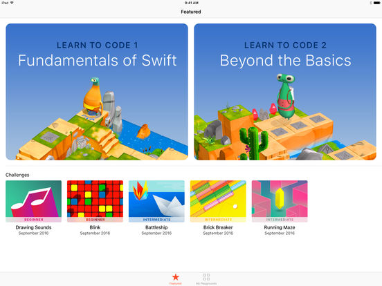 Swift Playgrounds App - 1