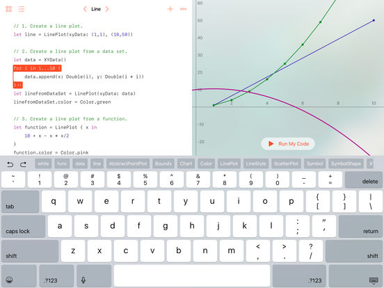 Swift Playgrounds App - 5