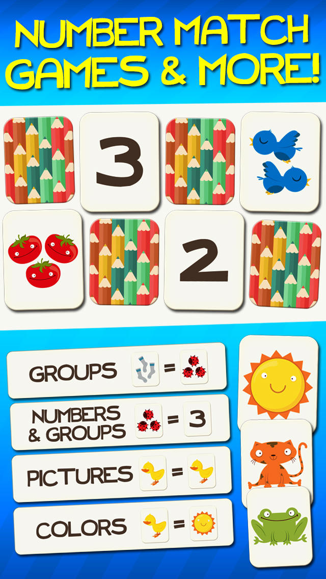 Numbers and Counting Early Learning Math App - 1
