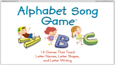 Alphabet Song Game™ (Free) - Letter Names and Shapes-1