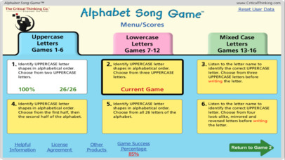 Alphabet Song Game