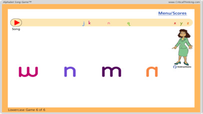 Alphabet Song Game™ (Free) - Letter Names and Shapes-4