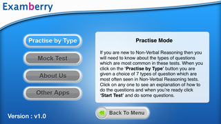Examberry 11+ Non Verbal Reasoning