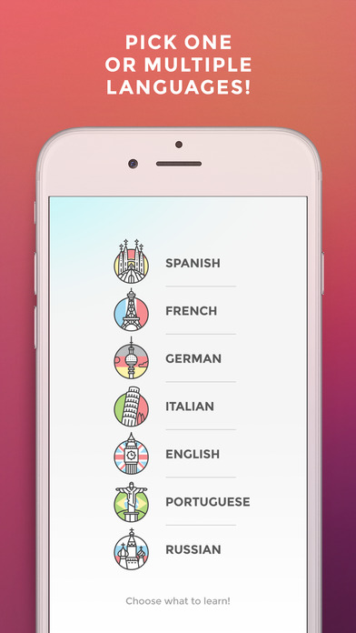 Drops: Learn Spanish, English & French words fast!-1