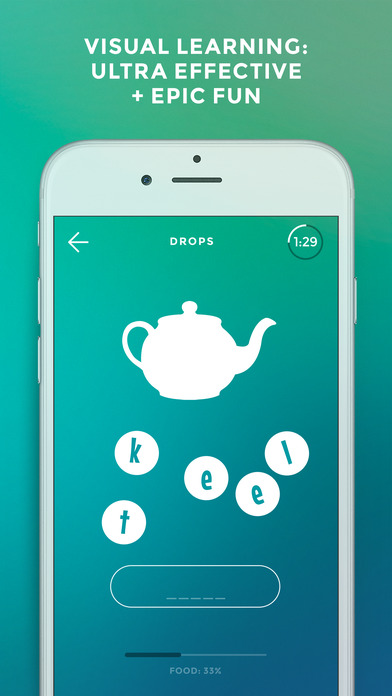 Drops: Learn Spanish, English & French words fast!-2