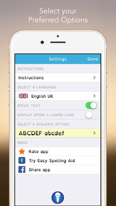 Easy Dyslexia Aid - Dysgraphia Spelling & Literacy Helper