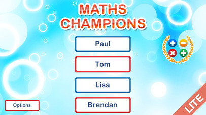 Maths Champions - fun brain games for kids and adults