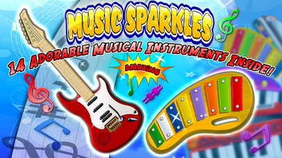 Music Sparkles – Musical Instruments Collection App - 1