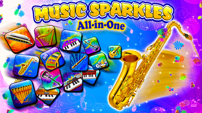 Music Sparkles – Musical Instruments Collection-3