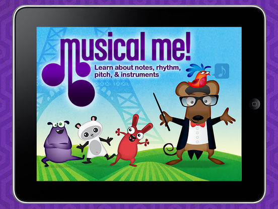 Musical Me! HD - by Duck Duck Moose App - 1