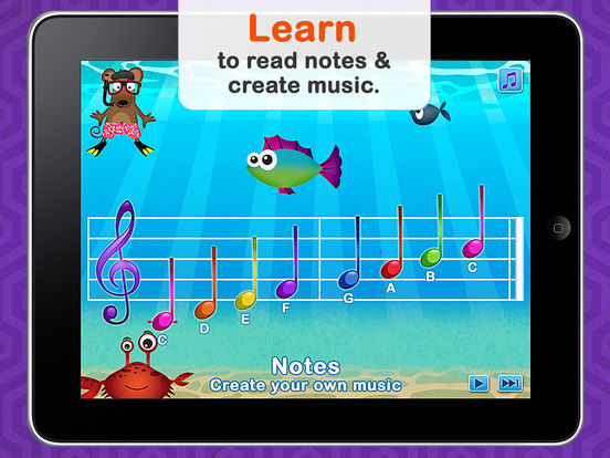 Musical Me! HD - by Duck Duck Moose App - 2