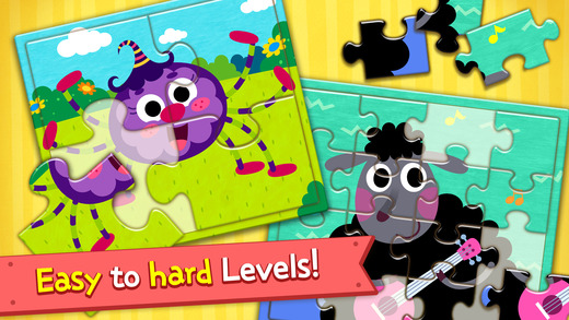 PINKFONG Kids Puzzle Fun App - 2