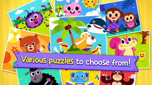 PINKFONG Kids Puzzle Fun App - 5