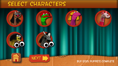 Sock Puppets App - 2