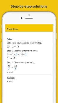 MathPapa - Algebra Calculator & Equation Solver App App - 2