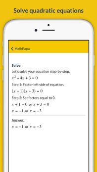MathPapa - Algebra Calculator & Equation Solver App App - 3