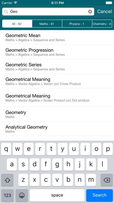 Physics Chemistry Maths Formulas: Formula MAX App - 4