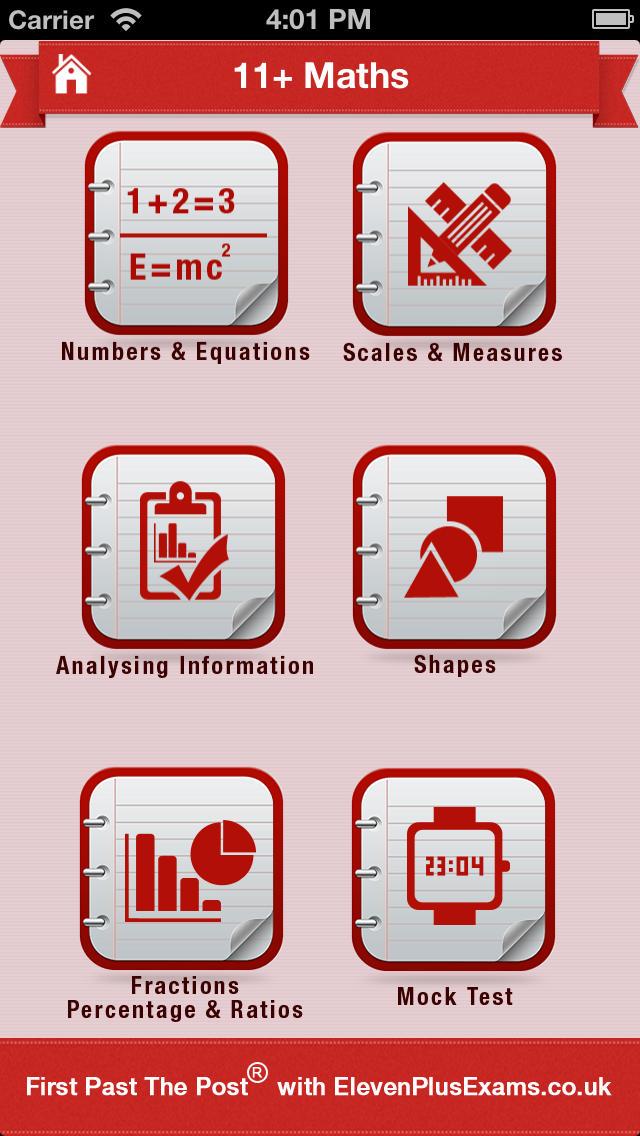 11+ Maths Practice App - 2