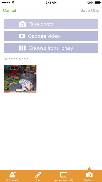Tapestry Mobile: Online Learning Journal App - 4