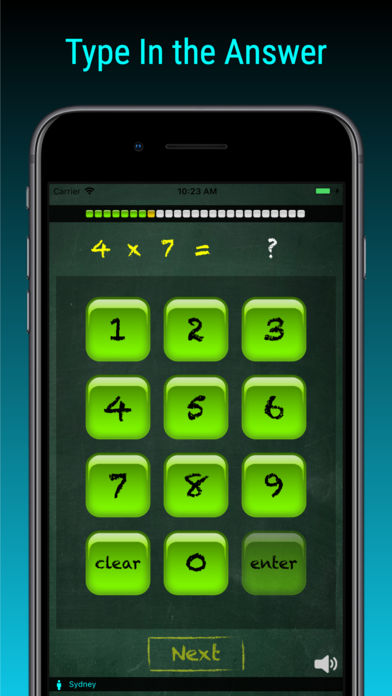 TimesX Times Tables Tester App - 1