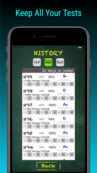 TimesX Times Tables Tester App - 6