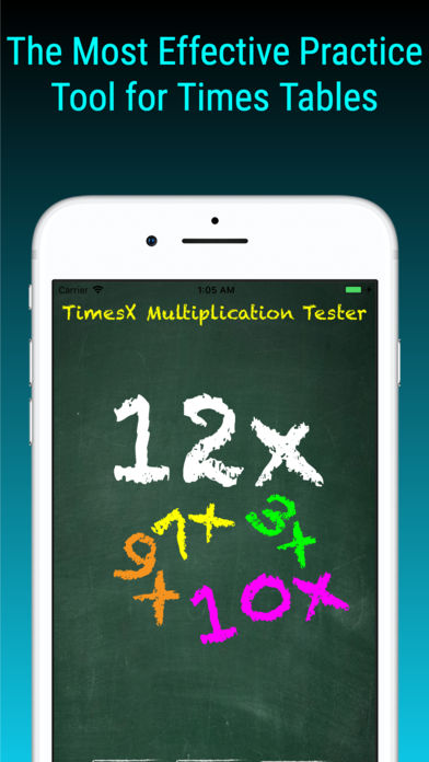 TimesX Times Tables Tester App - 10