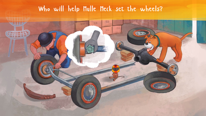 Mulle Meck builds a car — a children