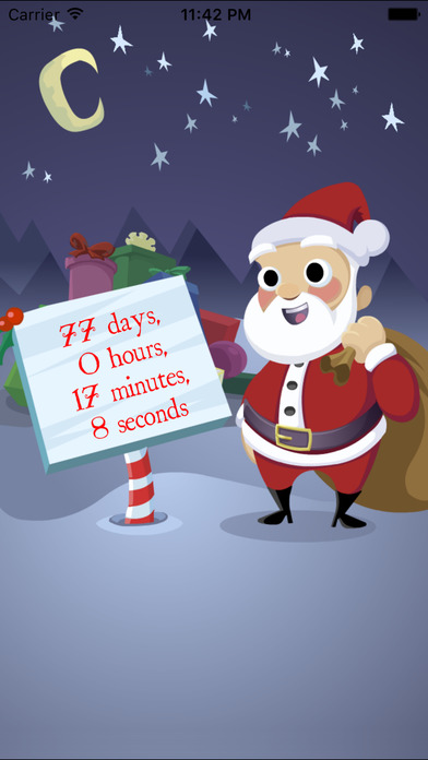 Sleeps To Christmas 2 - Christmas Countdown-1