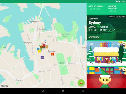 Google Santa Tracker App - 2