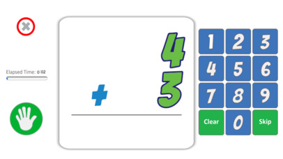 Math Fact Challenger App - 3