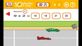10 Minutes a Day Times Tables App - 3
