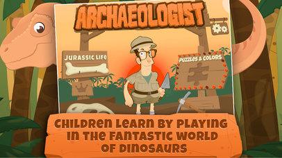 Archaeologist: Learning Dinosaur & Games for Kids-2