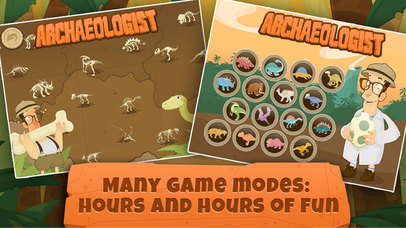 Archaeologist: Learning Dinosaur & Games for Kids App - 4