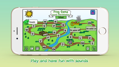 Frog Game - SCHOOL - sounds for reading-1