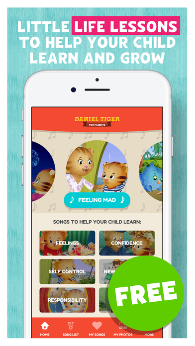 Daniel Tiger for Parents App - 3