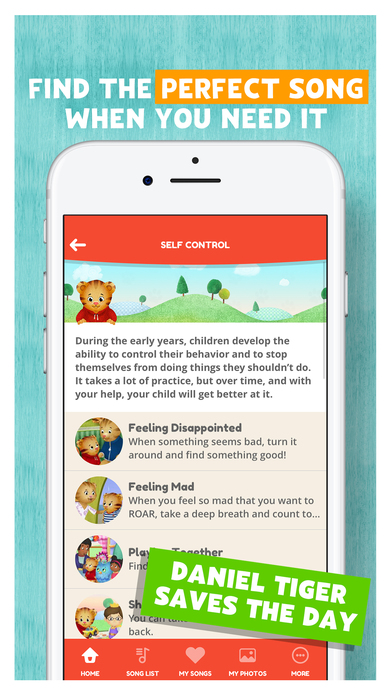 Daniel Tiger for Parents App - 4