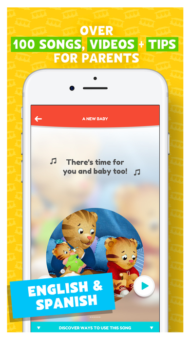 Daniel Tiger for Parents App - 5