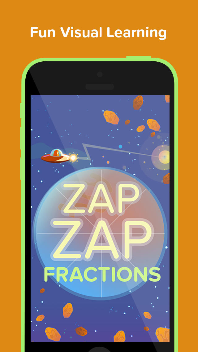 Zap Zap Fractions : Virtual Fraction Tutor-1